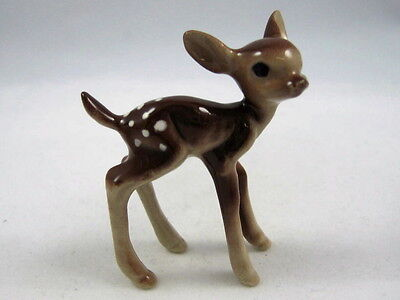 Hagen Renaker miniature made in America Deer Fawn facing right