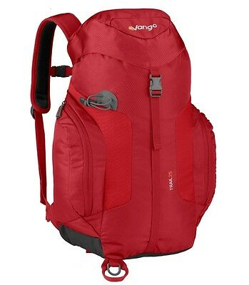 Vango Trail : Red : 25L Rucksack - Daysack, rambling,walking,hiking