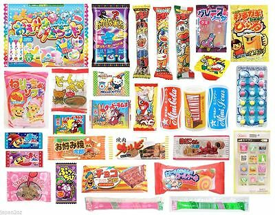 30 PIECE JAPANESE CANDY SET Popin Cookin DIY Candy Kits Ramune Gummy Sweets Xmas