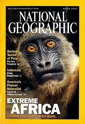 NATIONAL GEOGRAPHIC - 2001 March - Extreme Africa
