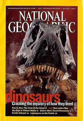 NATIONAL GEOGRAPHIC - 2003 March - Dinosaurs