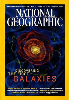 NATIONAL GEOGRAPHIC - 2003 February - The First Galaxies