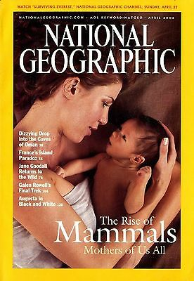 NATIONAL GEOGRAPHIC - 2003 April - The rise of Mammals