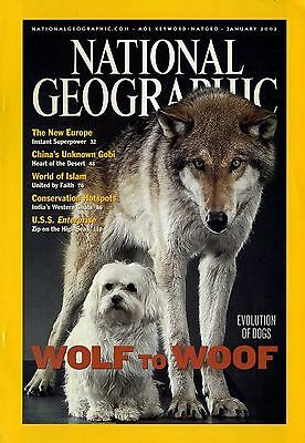 NATIONAL GEOGRAPHIC - 2002 January - Wolf to Woof