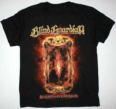 Blind Guardian Beyond The Red Mirror Heavy Metal Helloween New Black T-Shirt