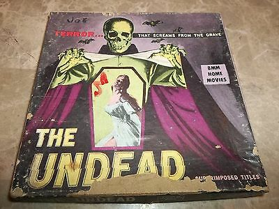 The Undead 1957 -  8mm horror roger corman
