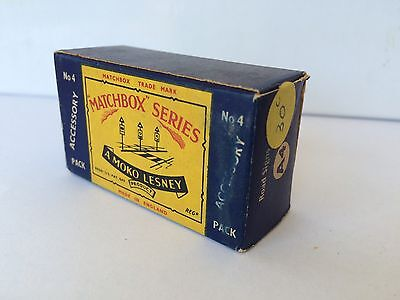 Matchbox Series Moko Lesney Accessory Pack No 4 Road Signs