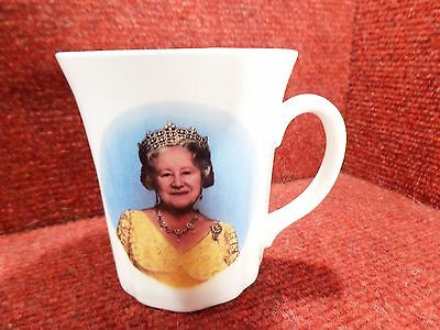 KILDSWARE QUEEN MOTHER 90TH BIRTHDAY Bone China MUG 4TH AUGUST 1990 FREE POSTAGE