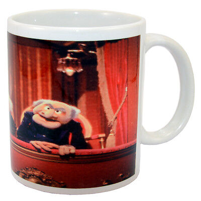 Statler and Waldorf Muppets 11oz Ceramic Coffee Mug Cup