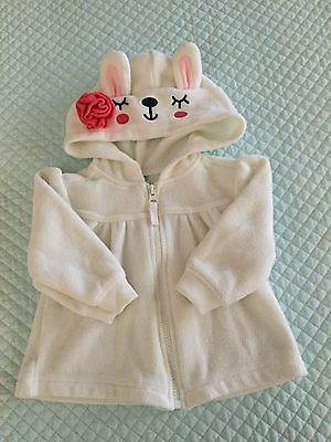 Baby Zip Fleecy Sweater. Size 12-18 Months. Old Navy Label