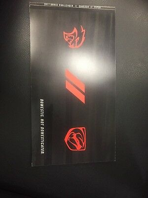 2017 Dodge Challenger Charger Viper Brochure R/t Srt Hellcat Scatpack 76 Pages