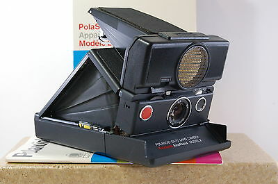 Vintage camera SLR SX 70 Polasonic Autofocus Model 2 Executive boxed Ref.721711