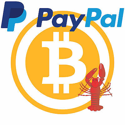 0.02 bitcoin (PayPal only) - TheLobster Bitcoin Seller