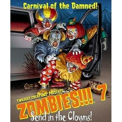 Zombies 7!!! Send in the Clowns - Brand new!