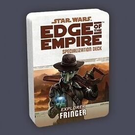 Star Wars Edge of the Empire Specialization Deck Fringer - Brand new!