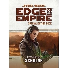 Star Wars Edge of the Empire Specialization Deck Scholar - Brand new!