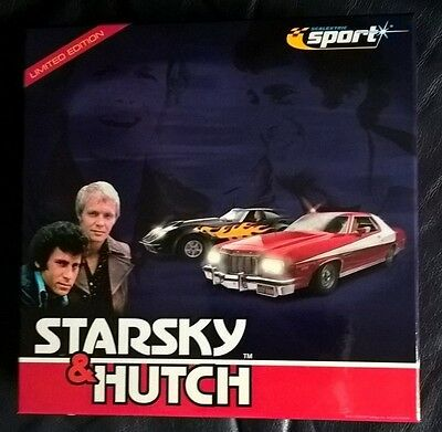 Scalextric Sport C2603A Starsky & Hutch Limited Edition  Boxed Car Set