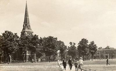 Turnham Green Church Chiswick unused RP pc Colonial Ref A257