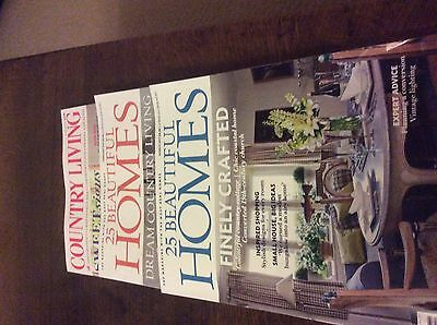 Beautiful Homes & Country Living Mags Feb/march 2017 Brand New