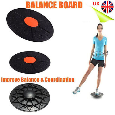 Professional Balance Board Fitness Wobble Yoga Plastic Pilates Disc Home Gym Hot