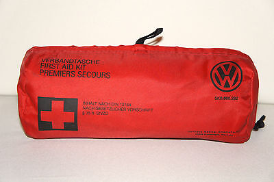 Original VW First Aid Kit 5K0860282 Genuine New Sealed - Road Safety Volkswagen
