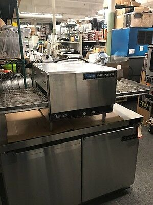 Lincoln Impinger 3100 Countertop Conveyor Pizza Oven 208V Used