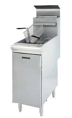 Commercial Natural Gas   Deep Fryer  Frialator 120K Btu