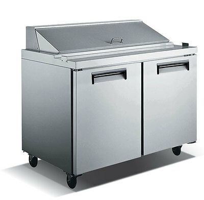 Commercial Refrigerated Sandwich Prep Table 48""