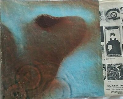 "PINK FLOYD ""MEDDLE"" RARE UK PSYCH ORIGINAL LP *1ST PRESSING* ('Hot Stamper') NM!"