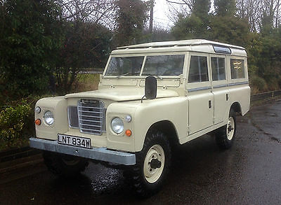 Land Rover Series 3 Safari Station Wagon LHD Left Hand Drive Petrol