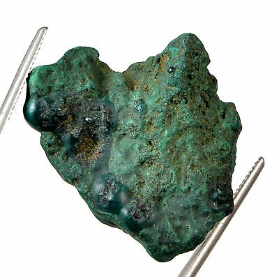 58.60 Ct. MGL Certified Rough Shape Natural Malachite Loose Gemstone GN - 2202