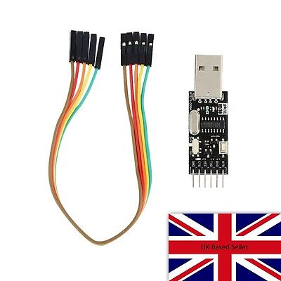 CH340G Serial Converter USB 2.0 To TTL Inc cable. FTDI equivalent