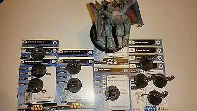 P Star Wars Miniatures Fringe Utapaun Tion Medon Warrior Soldier Dactillion