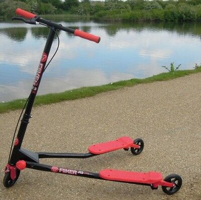 Yvolution Fliker A3 Air Red And Black