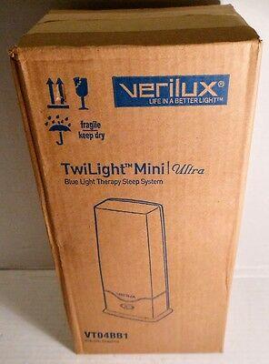 NEW Verilux TwiLight Mini Ultra Blue Light Therapy Sleep System (Mfr. Disc.)
