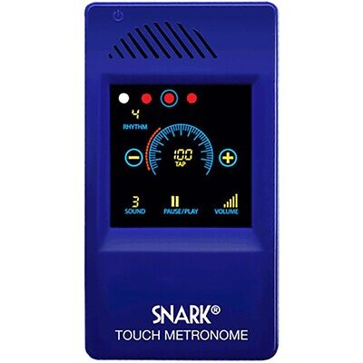New Snark SM-1 Digital Touch Screen Metronome, Blue