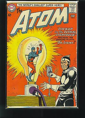 The Atom #8 VF- Justice League - Dr. Light
