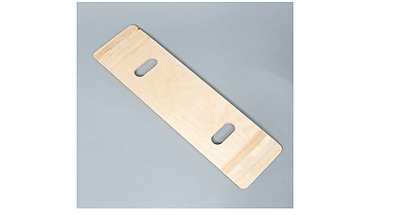"""NRS Healthcare Wooden Transfer Board with Hand Holes,  76cm x 21cm (30"""" x 8"""")"""