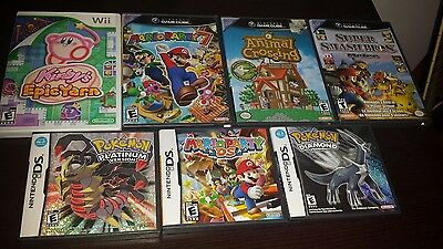 video game CASES & MANUALS ONLY NO GAMES