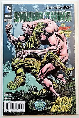 Swamp Thing #10 (2011) NM New 52 Snyder Paquette