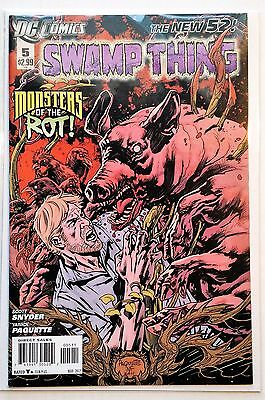 Swamp Thing #5 (2011) NM New 52 Snyder Paquette