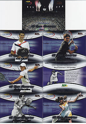 2008 Ace Authentic GRAND SLAM US Open Memories Bronze set USOM 18 Roger Federer