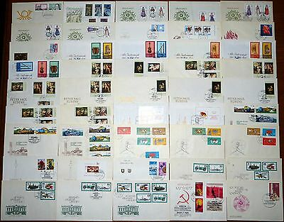 38x Brief DDR FDC 1978 Ersttagsbrief Lot Posten Sammlung SST (43