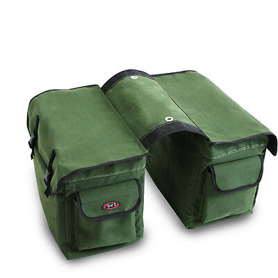 Waterproof Universal fit Motorcycle Pannier Bags Luggage Scooter Saddle Bags