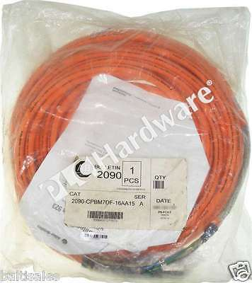 New Sealed Allen Bradley 2090-CPBM7DF-16AA15 /A Standard Motor Power Cable 15m