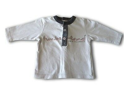 Boys TIMBERLAND Long Sleeve Shirt ~ Size 000 (1 month, 54cm) ~ Pre-Owned