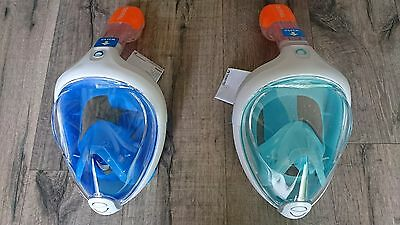 TRIBORD Easybreath SNORKELING MASK FULL FACE SCUBA, SNORKEL, GoPro CAMERA SUBEA)
