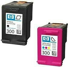 Original Pack 2 Tinta Hp 300 Negro Y Color Original Impresora
