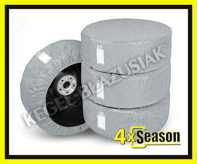 4 x WHEEL COVERS for 13'' 14'' 15''  ALLOY WHEEL TYRE STORAGE SPARE WHEEL