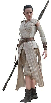 "MMS336 Star Wars The Force Awakens Rey 1/6 Scale Hot Toys 12"" Figure"